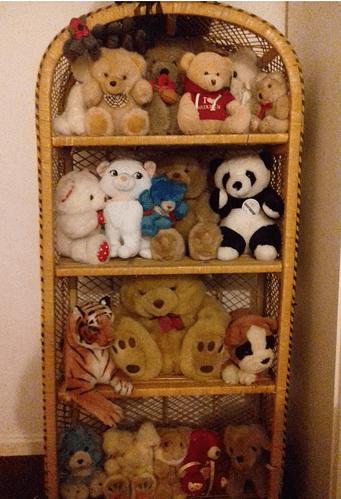 my baby Jaynes teddy bears